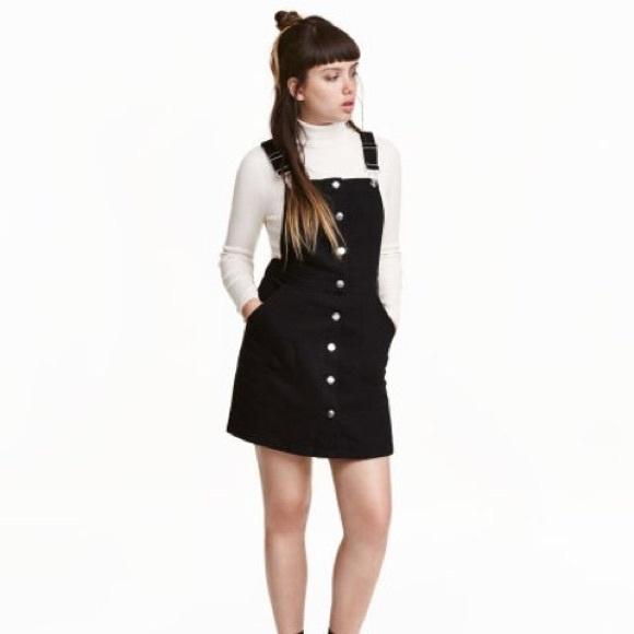 87eb8b57709 H M Dresses   Skirts - H M bib overall dress